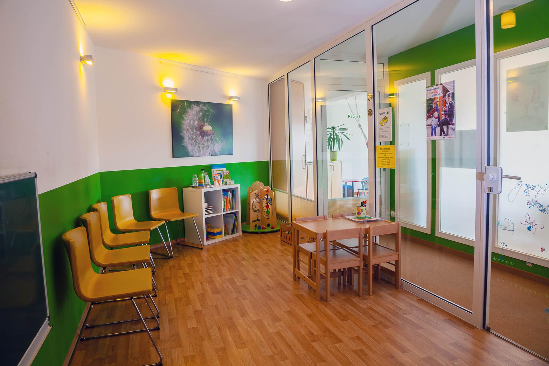 Wartezimmer  | Praxis für Logopädie Elisabeth Warnke